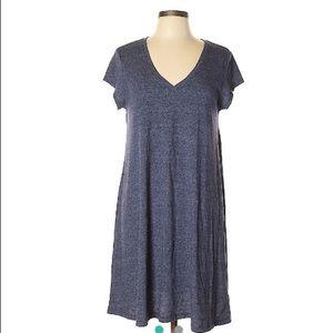 Make offer! Gap blue heather Casual shirt Dress Lg